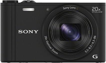 Sony Dsc Wx350 Digitalkamera 3 Zoll Schwarz Kamera