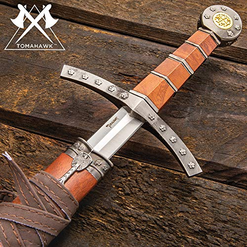 Tomahawk Middle Ages Medieval Broad Sword and