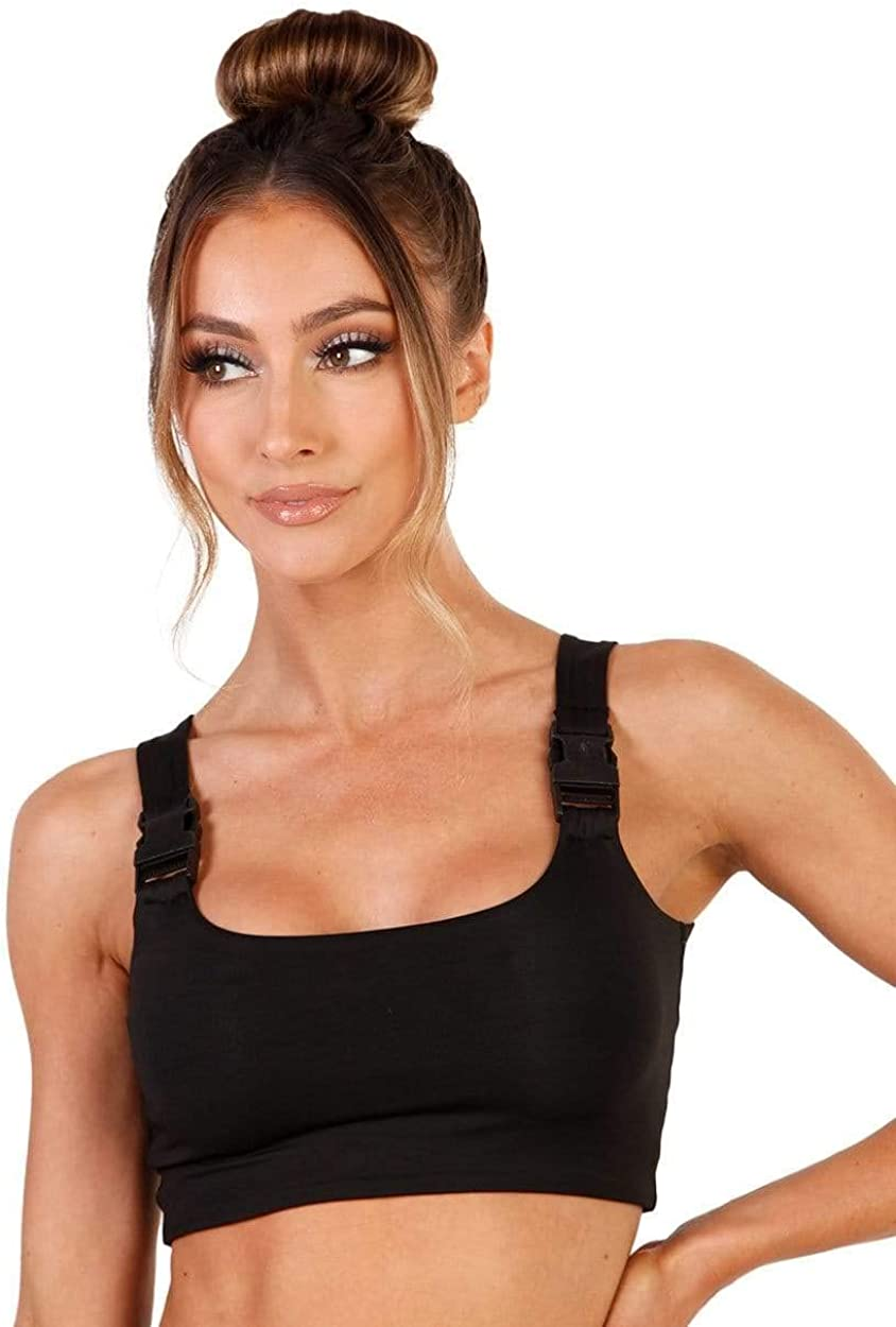 iHeartRaves Womens Bralette Crop Tops Ultra Cropped Festival Rave Tops