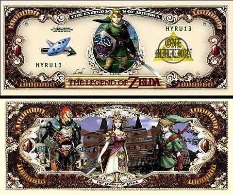 Legend of Zelda Million Dollar Bill (10/$4.99) by AAC (Legends Of Na)