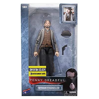 Bif Bang Pow! Penny Dreadful Ethan 6-Inch Action Figure - Convention Excl.: Toys & Games