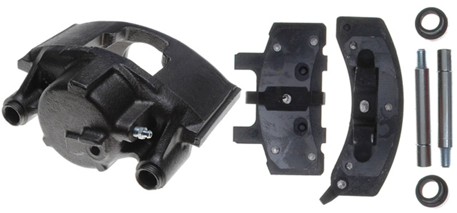 ACDelco 18R746 Professional Front Driver Side Disc Brake Caliper Assembly with Pads (Loaded), Remanufactured