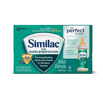 Similac For Supplementation Baby Formula Nursers 2 Oz 8 Pk