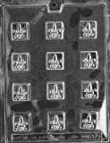 FLEUR-DE-LIS All Occasions Candy Mold Chocolate