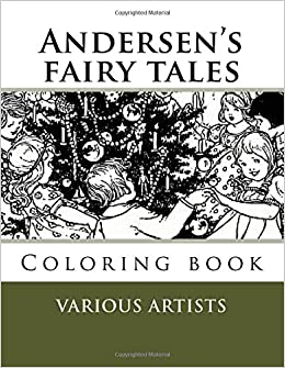 Andersen's fairy tales: Coloring book (Fairy Coloring books)
