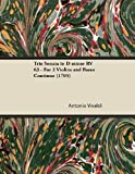 img - for Trio Sonata in D minor RV 63 - For 2 Violins and Basso Continuo (1705) book / textbook / text book