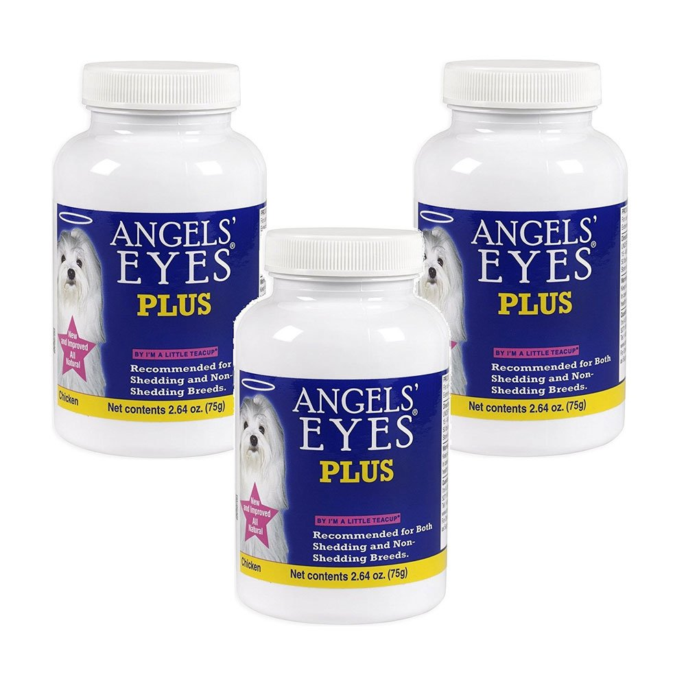 ANGELS' EYES Plus for Dogs - 75g - Chicken Formula - 3 Pack by ANGELS' EYES