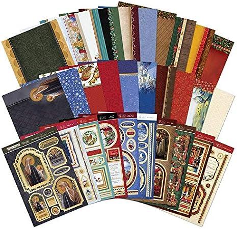 A4 muchas gracias-Hunkydory Tarjeta Especial de días haciendo Topper stockcard Kit