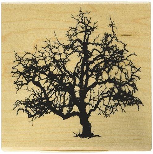 Inkadinkado Haunted Tree Wood Stamp_60-01327 -
