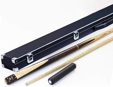 ZMg 57 Pulgadas 18 Oz Ash wood Taco de Billar,3/4 Snooker Palos de Billar,Embalado en Funda de Billar de Aluminio/B / 145cm: Amazon.es: Bricolaje y herramientas