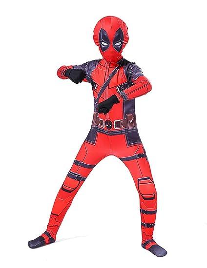 Leezeshaw - Disfraz de superhéroe de Marvel, Unisex, para ...