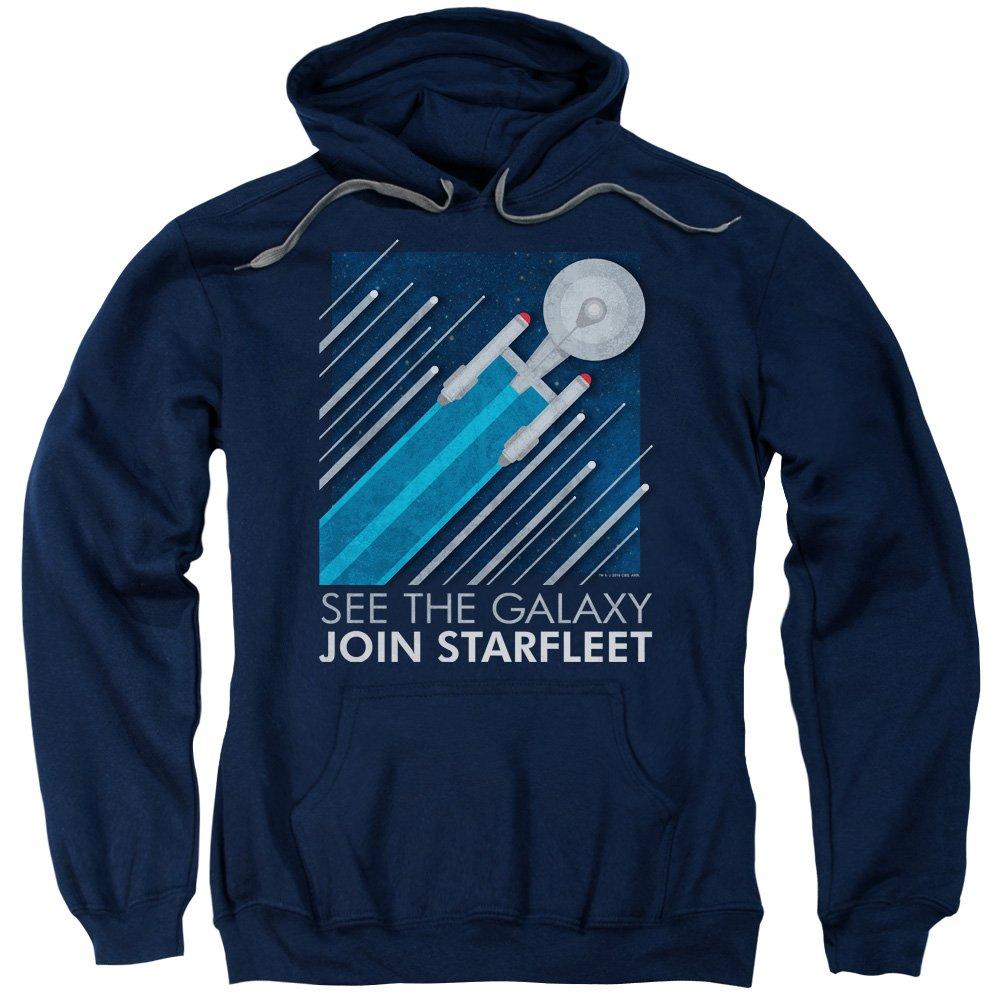 Star Trek - - Starfleet-Rekrutierungsplakat der Männer Hoodie