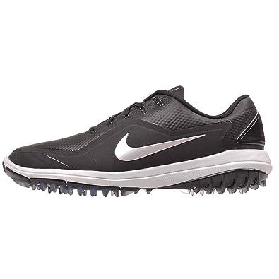 reputable site d5aff 3d425 Image Unavailable. Image not available for. Color  Nike Lunar Control Vapor  2 Golf Shoes 2017 Women Black Metallic Silver Pure Platinum