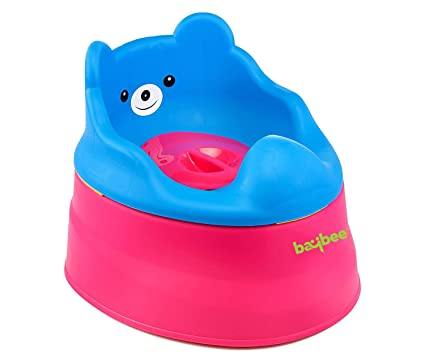 1b1b21db689 Buy Baybee Happy World Potty Seat Baby Toddler Potty Seat Kids Toilet  Training Potty Chair for Children (Red) Online at Low Prices in India -  Amazon.in