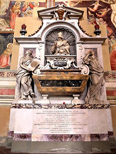 Home Comforts Peel-n-Stick Poster of Galileo Florence Santa Croce Tomb Science Religion Poster 24x16 Adhesive Sticker Poster Print