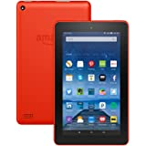 """Fire Tablet, 7"""" Display, Wi-Fi, 16 GB - Includes Special Offers, Tangerine"""
