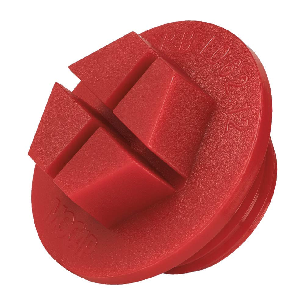 qty60 Nylon Yellow MOCAP SPB0500YW5 Red Sealing Plug for BSP 1//2 Threads Sealing Plugs for BSP Threads