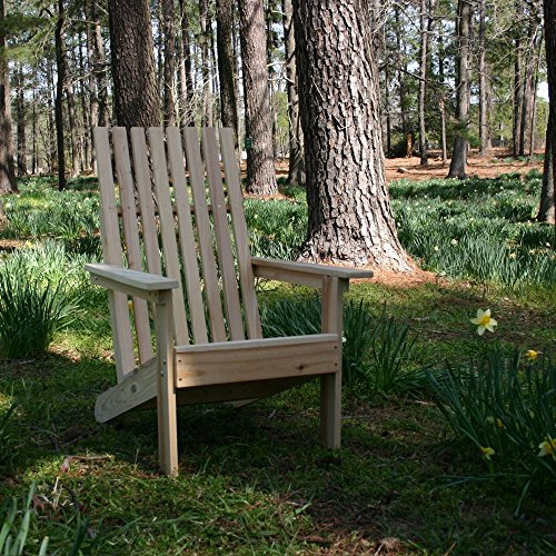 - FSC Certified Cypress Adirondack Square Chair