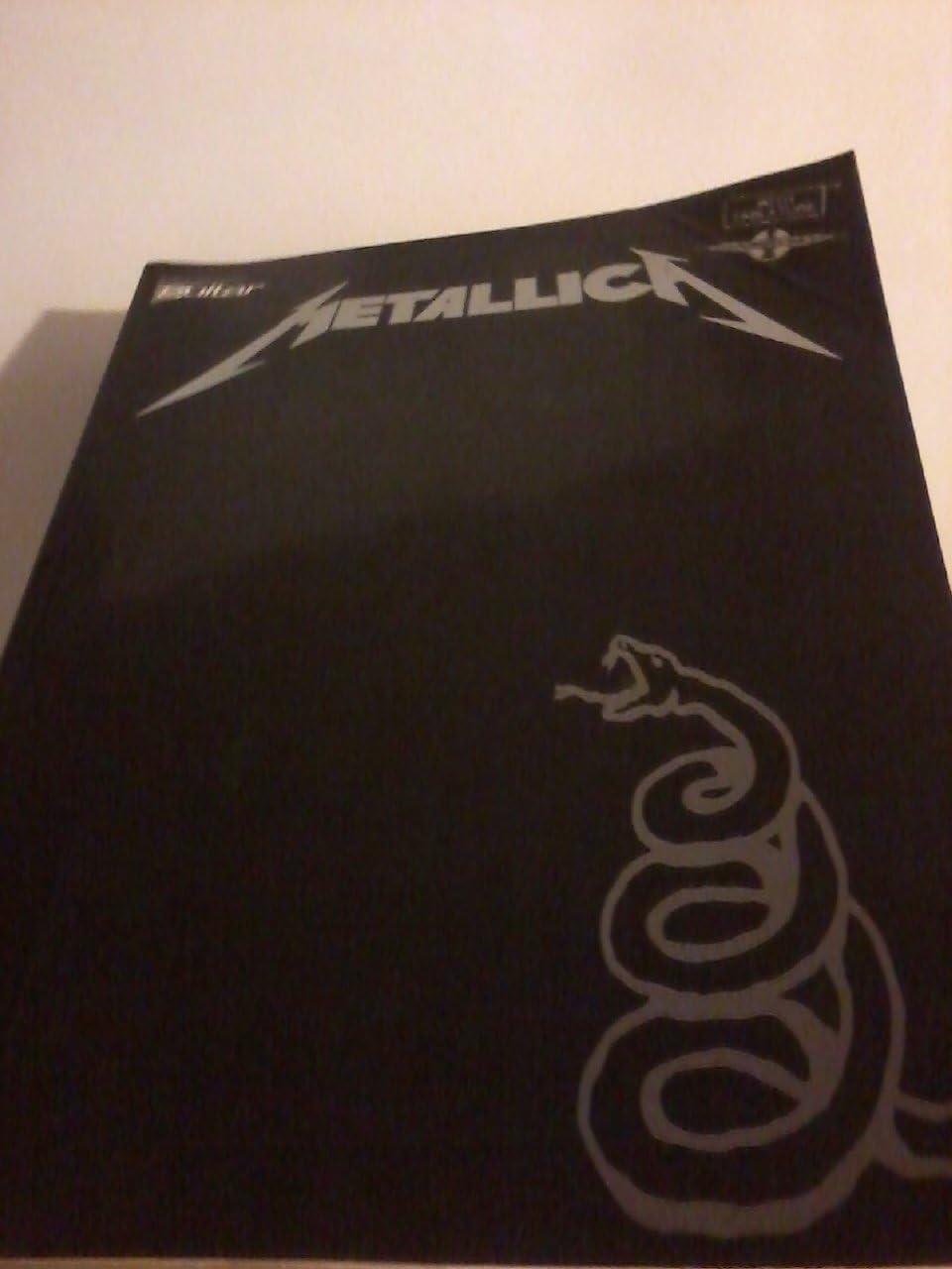 Metallica: The Black Album (TAB). Partituras para Acorde de Guitarra(Símbolos de los Acordes)