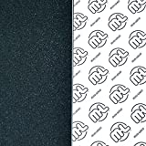 "Mini Logo Grip 10.5""X48"" Black - Single Sheet"