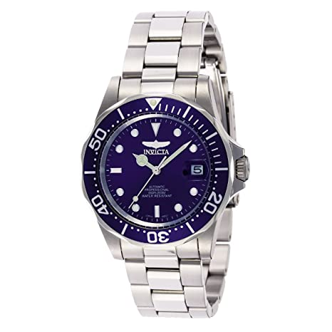 Review Invicta Men's 9094 Pro Diver Collection Stainless Steel Automatic Dress Watch with Link Bracelet