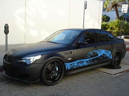 a2dcbd671a309c Image Unavailable. Image not available for. Color  Splash Car Side Vinyl Graphics  Vehicle Wrap ...