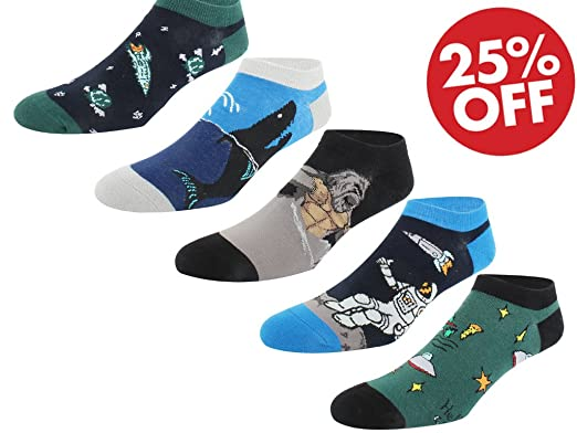c1a073634a Novelty Ankle Socks Fun Casual Socks for Men Women