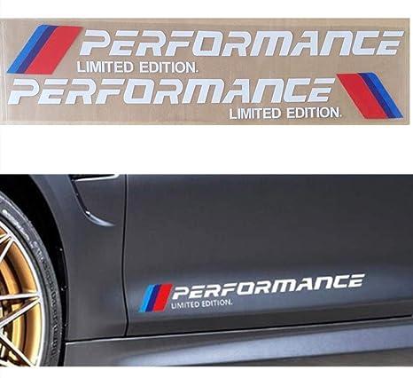 BMW PERFORMANCE M3 M4 HI-TEMP PREMIUM BRAKE CALIPER DECALS STICKERS CAST VINYL