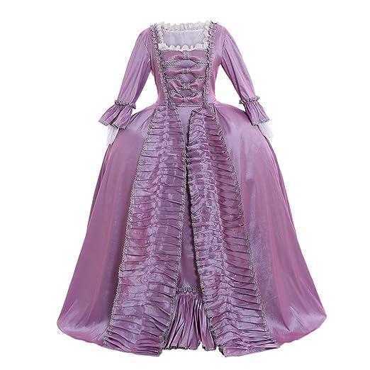 ff88a4eeb6e91 Amazon.com: CosplayDiy Women's Marie Antoinette 18th Century ...