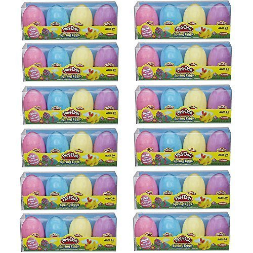 Play Doh Easter Eggs Basket Stuffers and Eggs Hunts – 48 (Bjs Candy)