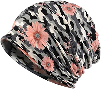 1PC Women Soft Baggy Slouchy Beanie Cap Outdoor Infinity Scarf  Chemo Hat