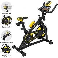 Bicicleta estática de ejercicio vertical para interiores y estudios, para entrenamiento aeróbico, cardiovascular.