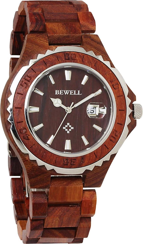 ビーウェル木製腕時計 ウッドウォッチ