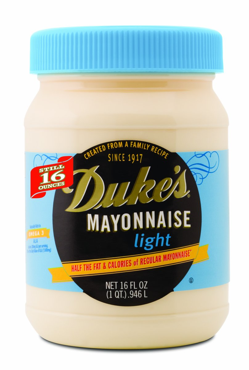Amazon.com : Dukes Mayonnaise Light, 16-Ounce Jars (Pack of 12) : Grocery & Gourmet Food