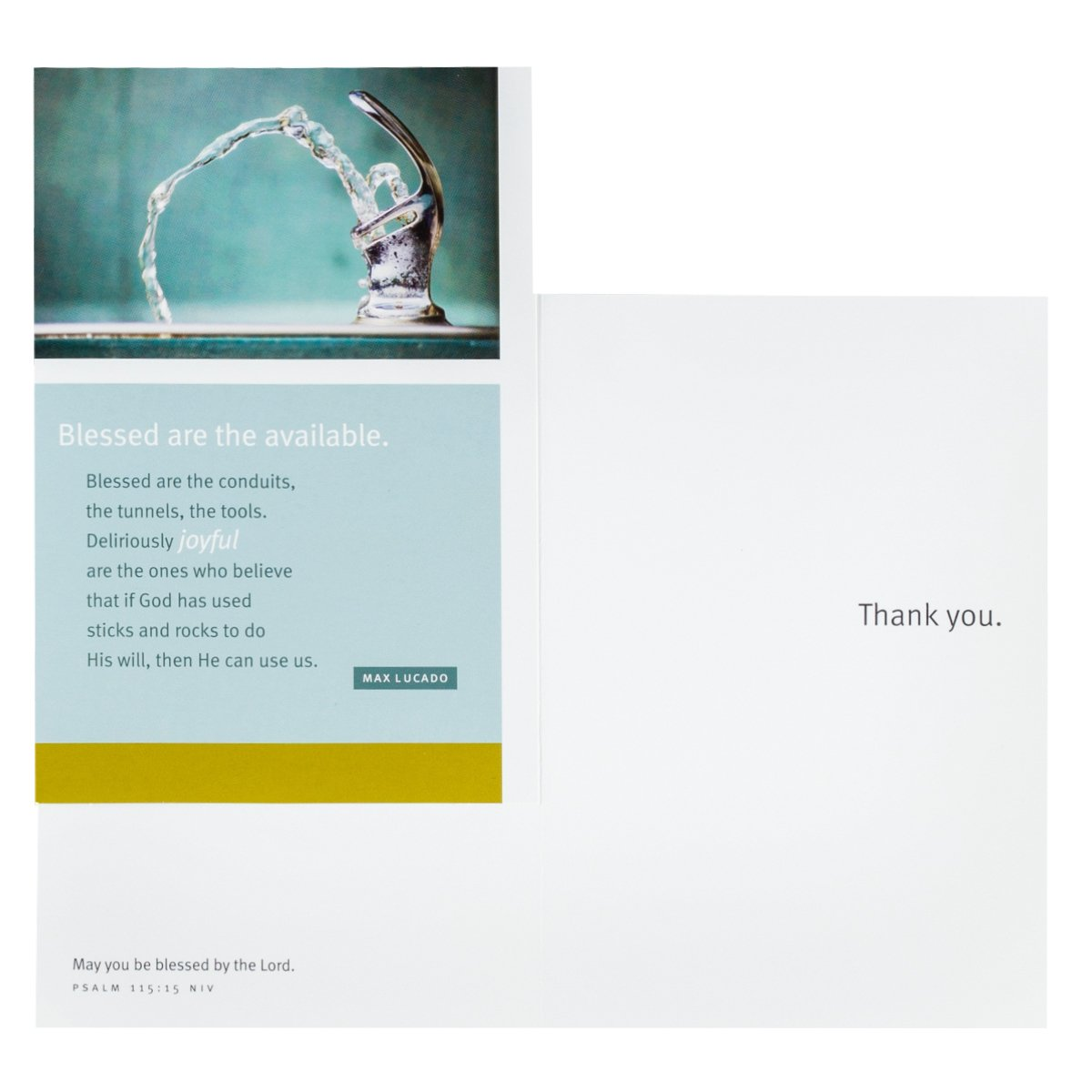 Amazon dayspring thank you boxed greeting cards w embossed amazon dayspring thank you boxed greeting cards w embossed envelopes max lucado 12 count office products kristyandbryce Choice Image