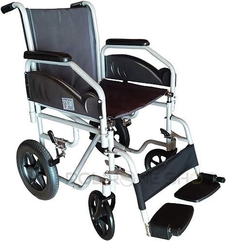 Polironeshop Satis silla de ruedas plegable de transito ligera ...