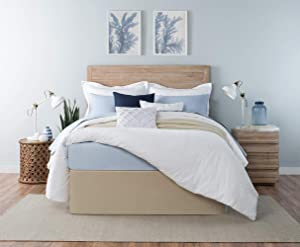 Standard Textile Circa Bed Wrap (Rice Paper, Queen)