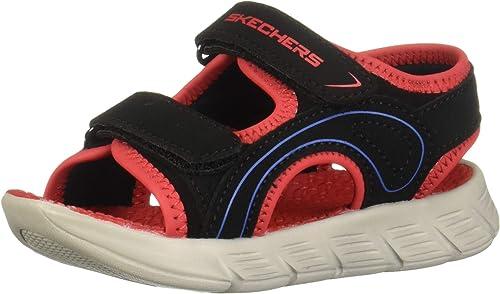 insertar clase patrón  Skechers, Sandalias para Niños, 97811N 97811NBKRD150, Negro / rojo, 15 M  Bebé: Amazon.com.mx: Ropa, Zapatos y Accesorios