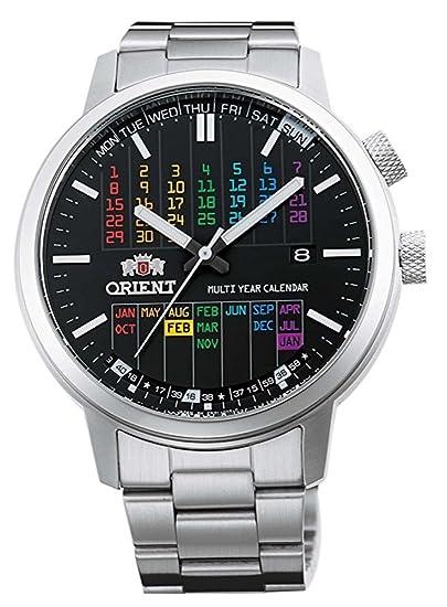Orient - ER2L003B - Reloj automático elegante con calendario plurianual inteligente, esfera arco iris: Amazon.es: Relojes