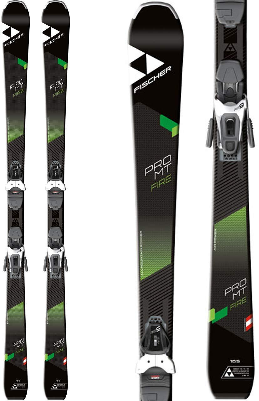 Fischer Ski Pro MT Pulse oder Fire SLR2 2019 On Piste Rocker + Bindung RS9