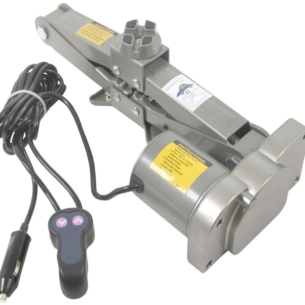 Stahl hebt bis 1500 kg FISHTEC /® Wagenheber 12 V elektrisch