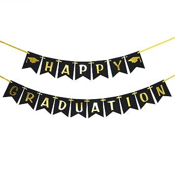 amazon happy graduation banner class of 2018 congrats graduate