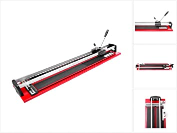 WALMER MGLR II Fliesenschneider 600-1200 mm Schneidmaschine Fliesen Profi-Qualit/ät 1200mm