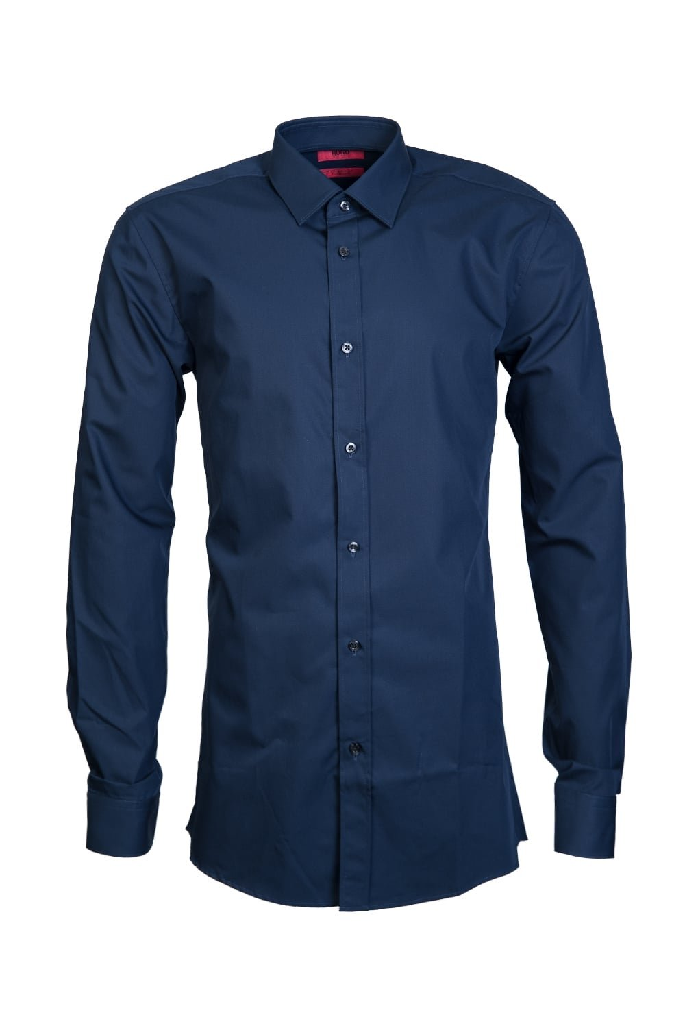 HUGO BOSS Mens Smart Shirt Elisha 01 50372533 Size 42 Blue