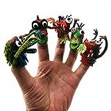 Amyove Puppets Toys Finger Story Mini Horror Toys Small Finger Novelty Animal Dolls Toy