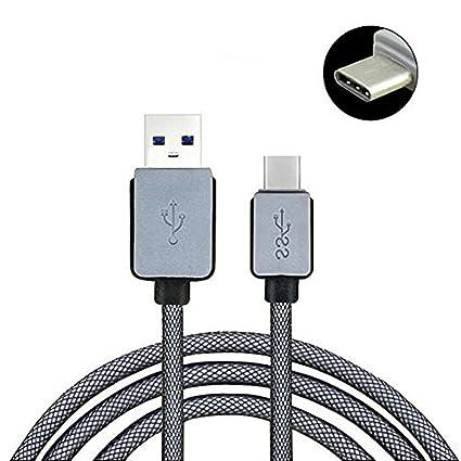 owojo Original microUSB cargador cable, trenzado cable de carga ...