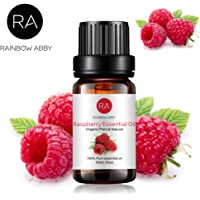 RAINBOW ABBY Raspberry Essential Oil, 100% Pure Organic Natural Aromatherapy Raspberry oil for Diffuser (10ml)