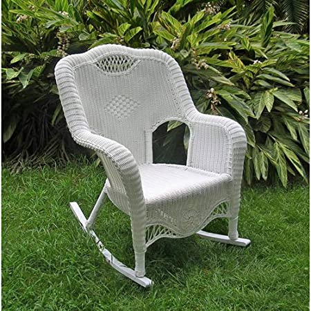 61DEVP88bEL._SS450_ Wicker Rocking Chairs