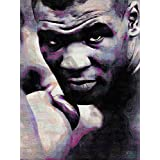 MIKE IRON TYSON BOXING ICON ART PRINT POSTER OIL PAINTING LFF0128