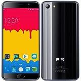 Ele Elephone S7 SIM Free Unlocked 4G LTE Smartphone Andorid 6.0 5.5 Inch Bezel-less Curved Screen Helio X20 MTK6797 2.0GHz Deca Core 3GB RAM + 32GB ROM Dual SIM 13MP Mobile Phone, Black